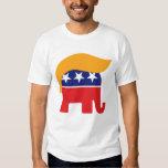 Logotipo del elefante del GOP del pelo de Donald Playeras