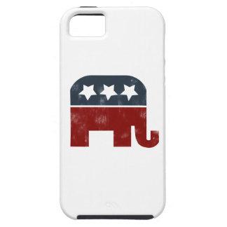 Logotipo del elefante del GOP iPhone 5 Carcasa