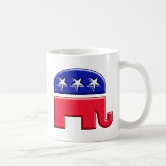 Logotipo del elefante del GOP Tazas