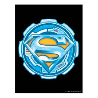 Logotipo del engranaje del S-Escudo el   del Tarjeta Postal