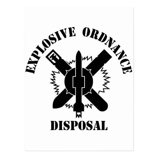 Logotipo del EOD Tarjetas Postales
