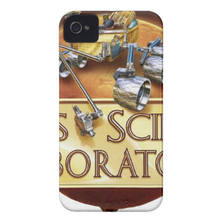 Logotipo del equipo de aterrizaje del laboratorio Case-Mate iPhone 4 cárcasas
