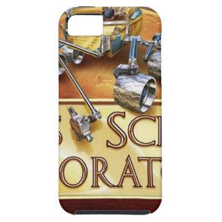 Logotipo del equipo de aterrizaje del laboratorio iPhone 5 Case-Mate protectores