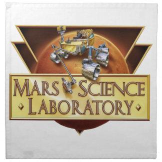 Logotipo del equipo de aterrizaje del laboratorio  servilletas imprimidas