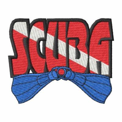 Logotipo del equipo de submarinismo sudadera bordada