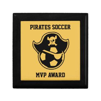 Logotipo del equipo o del club de fútbol de la cajas de recuerdo