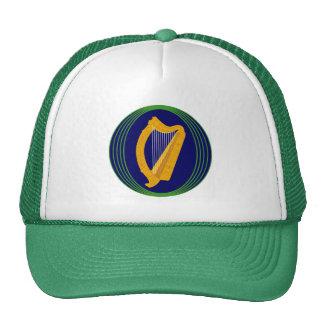 Logotipo del escudo de armas de Irlanda Gorras