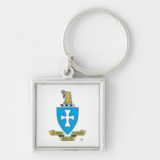 Logotipo del escudo de la ji de la sigma llavero