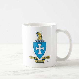 Logotipo del escudo de la ji de la sigma taza de café