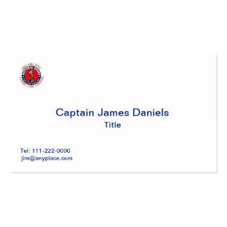 Logotipo del escudo del Guardia Nacional Tarjetas De Visita