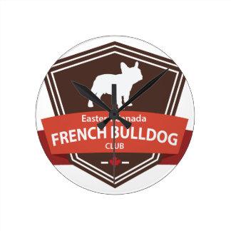Logotipo del este del club del dogo francés de Can Reloj