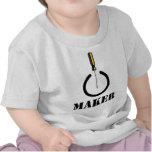 Logotipo del fabricante camiseta