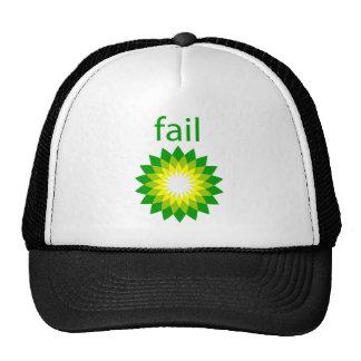 Logotipo del fall del derrame de petróleo de BP Gorro