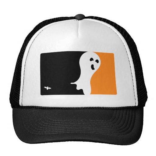 Logotipo del fantasma del MVP de Halloween Gorro De Camionero
