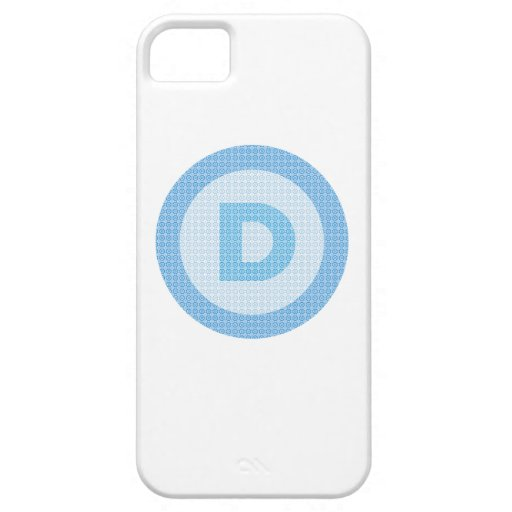 Logotipo del fiesta de Demócrata iPhone 5 Carcasa