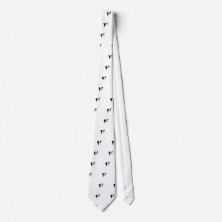 Logotipo del fontanero corbatas personalizadas