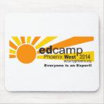 Logotipo del funcionario de Edcamp Phoenix 2014 Tapete De Ratón