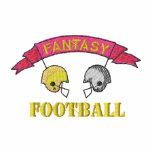 Logotipo del fútbol de la fantasía chaqueta de entrenamiento