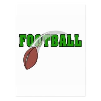 Logotipo del fútbol postal