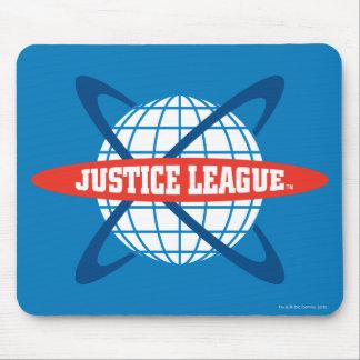 Logotipo del globo de la liga de justicia mousepad