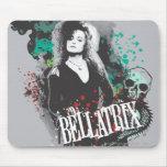 Logotipo del gráfico de Bellatrix Lestrange Alfombrillas De Ratones