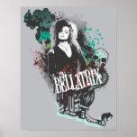 Logotipo del gráfico de Bellatrix Lestrange Póster