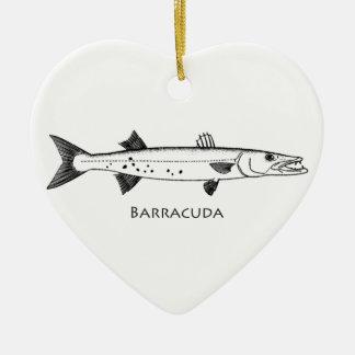 Logotipo del gran Barracuda Ornaments Para Arbol De Navidad