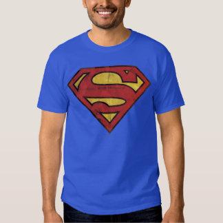 Logotipo del Grunge del superhombre Camisas