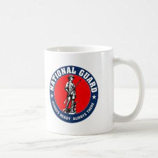 Logotipo del Guardia Nacional del ejército Taza De Café