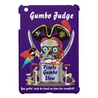Logotipo del Gumbo del pirata todas las indirectas iPad Mini Carcasa