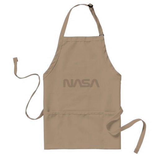 Logotipo del gusano de la NASA Delantal