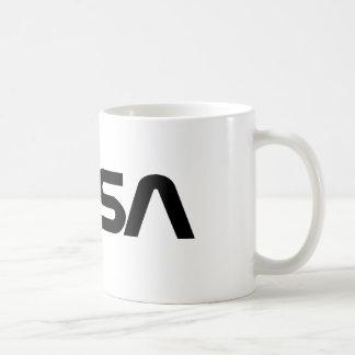 Logotipo del gusano de la NASA Tazas De Café