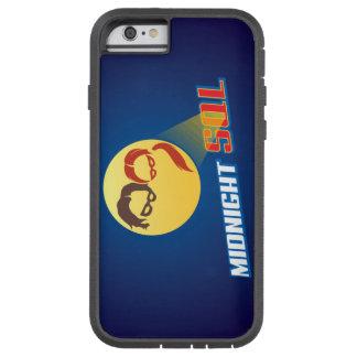 Logotipo del héroe de MidnightSQL - caja del Funda De iPhone 6 Tough Xtreme