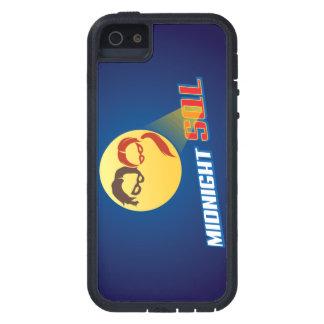 Logotipo del héroe de MidnightSQL - caja del iPhone 5 Fundas