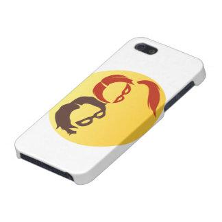 Logotipo del héroe de MidnightSQL - caso móvil iPhone 5 Carcasas