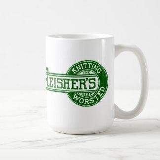 Logotipo del hilado de Fleisher Taza De Café