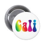 Logotipo del Hippie de California del teñido anuda Pins
