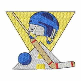 Logotipo del hockey de la calle camiseta polo