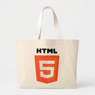 Logotipo del HTML 5 Bolsas