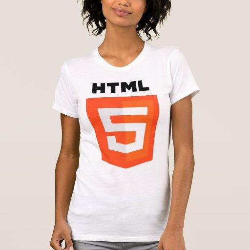 Logotipo del HTML 5 Playeras