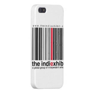 logotipo del indiExhibit iPhone 5 Coberturas