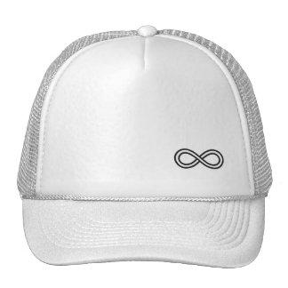 Logotipo del infinito - gorra blanco del camionero