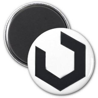 Logotipo del ingeniero de Firefall Imán Redondo 5 Cm