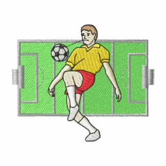 Logotipo del jugador de fútbol