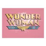 Logotipo del lápiz de la Mujer Maravilla Anuncios