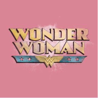 Logotipo del lápiz de la Mujer Maravilla Esculturas Fotográficas