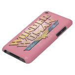 Logotipo del lápiz de la Mujer Maravilla iPod Touch Case-Mate Coberturas