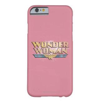 Logotipo del lápiz de la Mujer Maravilla Funda Barely There iPhone 6