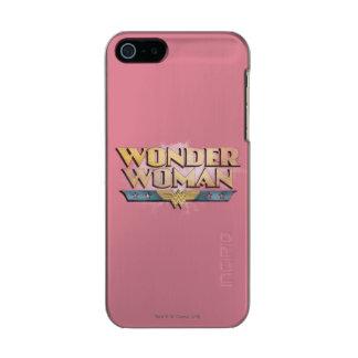 Logotipo del lápiz de la Mujer Maravilla Funda Para iPhone 5 Incipio Feather Shine