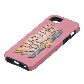 Logotipo del lápiz de la Mujer Maravilla iPhone 5 Carcasas